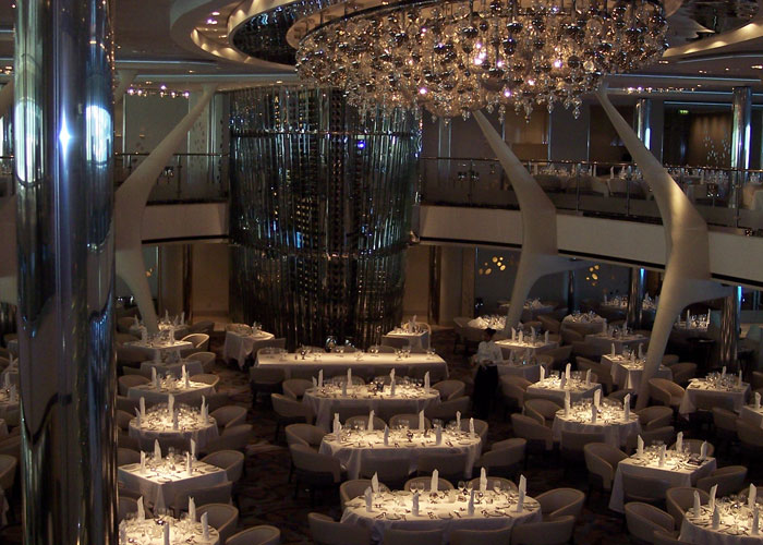 Photo of a Cruise Ship Dinner