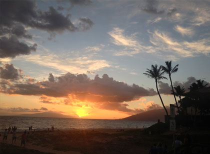 Photo of Hawaii Vacation Sunrise